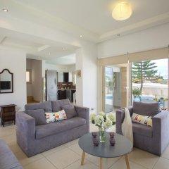 Отель Villa Michelle 2 Кипр, Протарас - отзывы, цены и фото номеров - забронировать отель Villa Michelle 2 онлайн комната для гостей фото 3