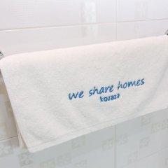 Отель Irang Hanok Guesthouse Южная Корея, Сеул - отзывы, цены и фото номеров - забронировать отель Irang Hanok Guesthouse онлайн ванная