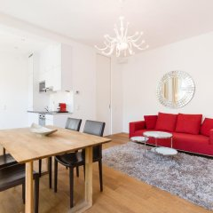 Апартаменты Sky Residence - Business Class Apartments City Centre Вена комната для гостей фото 2