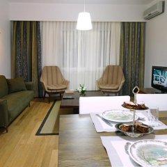 Отель Cheya Gumussuyu Residence 4* Апартаменты с различными типами кроватей фото 9