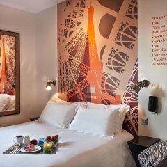 Отель Hôtel Alpha Paris Tour Eiffel by Patrick Hayat 3* Стандартный номер с различными типами кроватей фото 6
