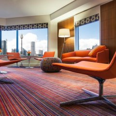 Отель Pullman Sydney Hyde Park 5* Улучшенный номер с различными типами кроватей фото 3