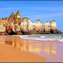 Отель Clube Praia Mar Португалия, Портимао - отзывы, цены и фото номеров - забронировать отель Clube Praia Mar онлайн пляж фото 2