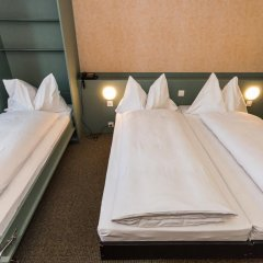 Hotel City am Bahnhof 3* Стандартный номер с различными типами кроватей фото 4