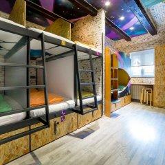 Chillout Hostel Zagreb Кровать в общем номере с двухъярусной кроватью фото 38