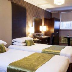 Best Western Glasgow City Hotel 3* Представительский семейный номер с разными типами кроватей
