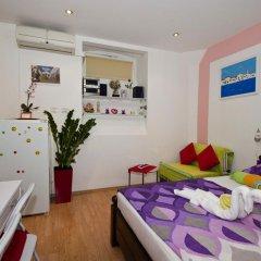 Апартаменты Studio Venera Семейная студия с двуспальной кроватью фото 26