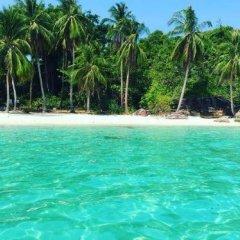 Отель Hana Resort & Bungalow пляж