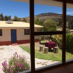 Отель Casa Inti Lodge Стандартный номер с различными типами кроватей (общая ванная комната)