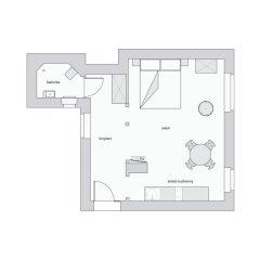 Апартаменты Sanhaus Apartments Студия фото 36