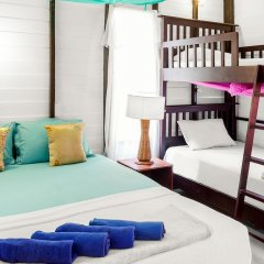Leaf House Bungalow - Hostel комната для гостей фото 3