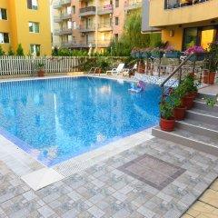 Отель Aparthotel Aquaria Болгария, Солнечный берег - отзывы, цены и фото номеров - забронировать отель Aparthotel Aquaria онлайн бассейн