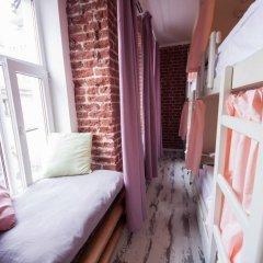 Волхонка хостел Кровать в общем номере с двухъярусными кроватями фото 9