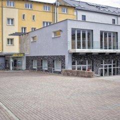 Отель Promohotel Slavie Хеб парковка