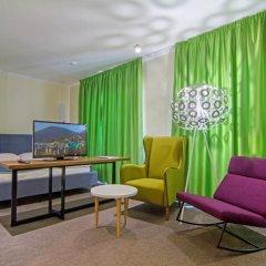 Гостиница Art up City 3* Студия с разными типами кроватей фото 2
