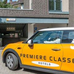 Отель Motel One Duesseldorf City городской автобус
