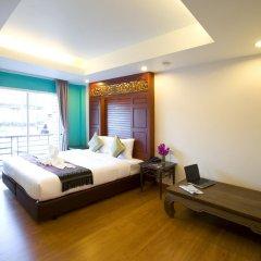 Отель Korbua House 3* Представительский номер с различными типами кроватей фото 7