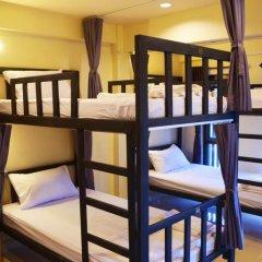 Chang Hostel Кровать в общем номере с двухъярусной кроватью фото 11