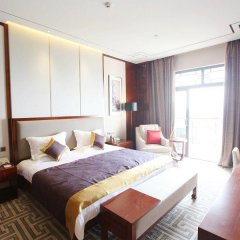 Ji'an Hotel 4* Улучшенный люкс с различными типами кроватей фото 2