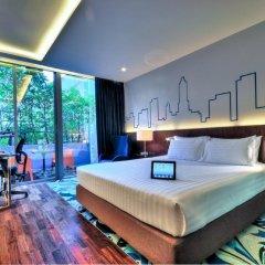 Отель Galleria 10 Sukhumvit Bangkok by Compass Hospitality 4* Номер Премьер с двуспальной кроватью фото 6