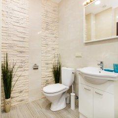 Отель Apartamentai 555 Литва, Вильнюс - отзывы, цены и фото номеров - забронировать отель Apartamentai 555 онлайн ванная фото 2