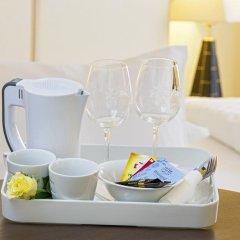 Отель APARTHOTEL Familie Hugenschmidt 3* Номер с общей ванной комнатой с различными типами кроватей (общая ванная комната) фото 5