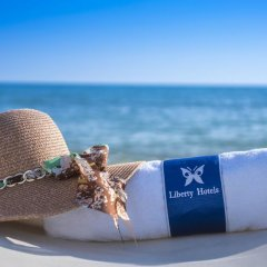 Liberty Hotels Lara Турция, Кунду - 14 отзывов об отеле, цены и фото номеров - забронировать отель Liberty Hotels Lara - All Inclusive онлайн пляж фото 2