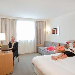 Отель Novotel Paris Vaugirard Montparnasse 4* Представительский семейный номер с различными типами кроватей фото 2