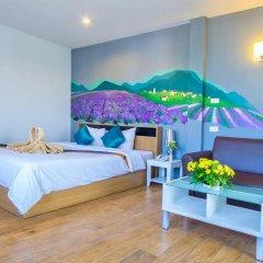 Отель Sea Breeze Jomtien Residence 3* Улучшенный номер с различными типами кроватей