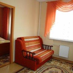 Гостиница в Тамбове Стандартный номер с двуспальной кроватью фото 4