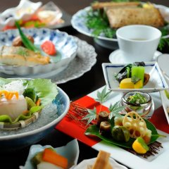 Отель Ryokan Miyama Sansou Минамиогуни питание фото 3