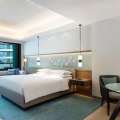 JW Marriott Hotel Sanya Dadonghai Bay 5* Номер Делюкс с различными типами кроватей фото 3
