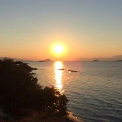 Отель Isidora Hotel Греция, Эгина - отзывы, цены и фото номеров - забронировать отель Isidora Hotel онлайн пляж фото 2