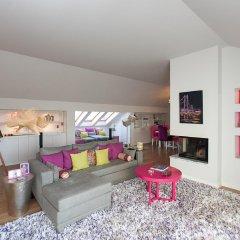 Отель Charming Penthouse with Private Terrace Лиссабон комната для гостей фото 4