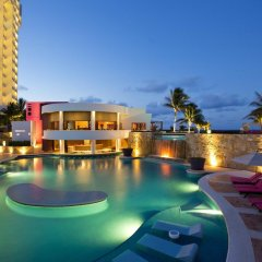 Отель Reflect Krystal Grand Cancun бассейн фото 3