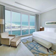 Отель DoubleTree by Hilton Dubai Jumeirah Beach 4* Семейный люкс с двуспальной кроватью фото 5
