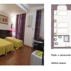 Отель A Ponte - Saldanha 2* Стандартный номер с 2 отдельными кроватями фото 8