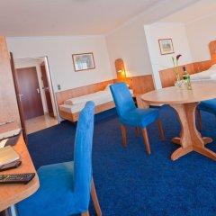 Apartment-Hotel Hamburg Mitte 3* Стандартный семейный номер разные типы кроватей фото 9