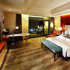 Hotel Nikko Xiamen 4* Улучшенный люкс с различными типами кроватей фото 3