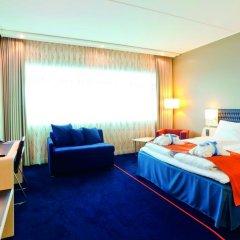 Radisson Blu Hotel, Trondheim Airport 4* Стандартный номер с различными типами кроватей фото 4
