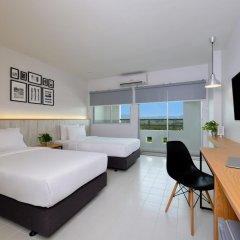 Отель Ruenthip Residence Pattaya 4* Улучшенный номер с 2 отдельными кроватями фото 7