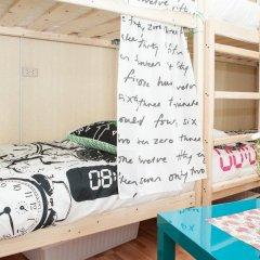 Хостел Академ Сити Кровать в мужском общем номере с двухъярусной кроватью фото 12