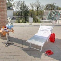 Отель Appartamenti Rosa Абано-Терме бассейн фото 2