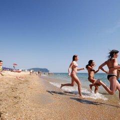 Отель Villaggio Riva Musone Порто Реканати пляж