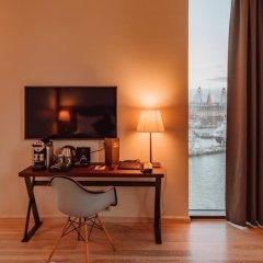 Clarion Hotel Helsinki 4* Номер Делюкс с различными типами кроватей фото 7