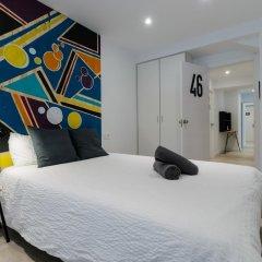 Отель Off Beat Guesthouse 2* Стандартный номер с двуспальной кроватью (общая ванная комната) фото 7
