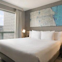 Отель Hilton Suites Chicago/Magnificent Mile комната для гостей фото 11