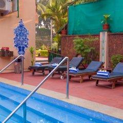 Отель Casa Severina Индия, Гоа - отзывы, цены и фото номеров - забронировать отель Casa Severina онлайн бассейн фото 3