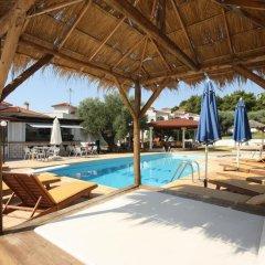Отель Villa Askamnia Deluxe Греция, Метаморфоси - отзывы, цены и фото номеров - забронировать отель Villa Askamnia Deluxe онлайн бассейн фото 2