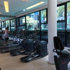 Отель Acqua Condotel No.31 284 Паттайя фитнесс-зал